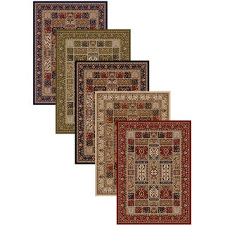 Admire Home Living Amalfi Panel Area Rug (5'5 x 7'7) - 5'5 x 7'7