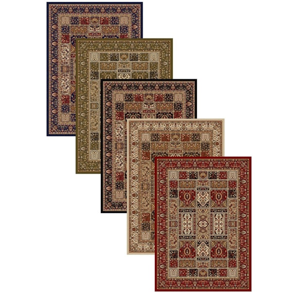 Admire Home Living Amalfi Panel Area Rug (7'9 x 11') - 7'9 x 11'