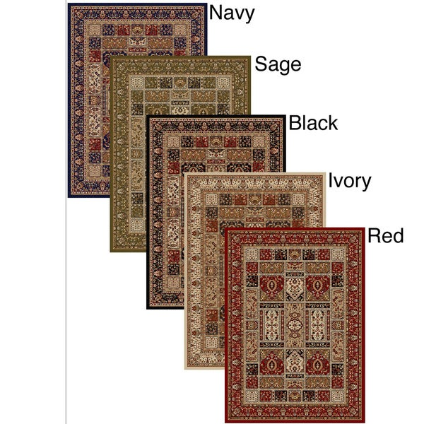 Admire Home Living Amalfi Panel Area Rug (7'9 x 11')