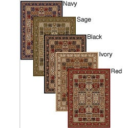 Admire Home Living Amalfi Panel Area Rug (7'9 x 11')