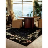 "Nourison Hand-tufted Julian Black Rug - 3'6"" x 5'6"""