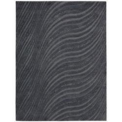 Joseph Abboud Modelo Charcoal Area Rug by Nourison (4' x 6')