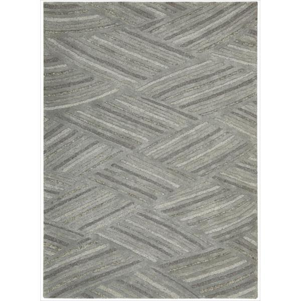 Modelo Steel Area Rug by Nourison - 5'6 x 7'5