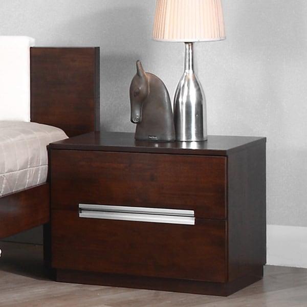 Eureka 2-drawer nightstand