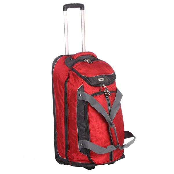 High Sierra 28-inch Wheeled Drop-bottom Upright Duffel Bag