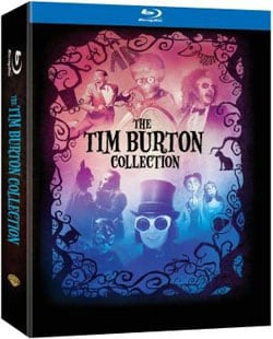 Tim Burton Collection and Book (Blu-ray Disc)