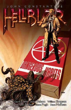 John Constantine: Hellblazer 5: Dangerous Habits  (Paperback)