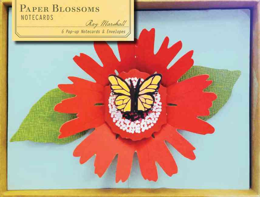 Paper Blossoms Pop-up Notecards (Cards)
