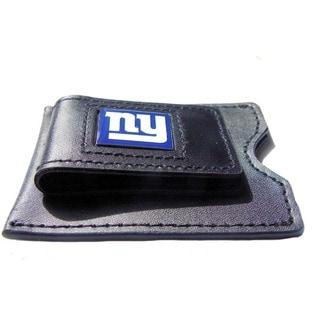 NFL Leather Money Clip Card Holder
