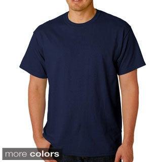 Men's 100 Percent Cotton Crew-Neck T-Shirt (Option: 2xl)