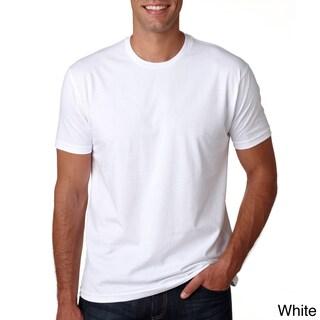 Men's 100 Percent Cotton Crew-Neck T-Shirt (More options available)