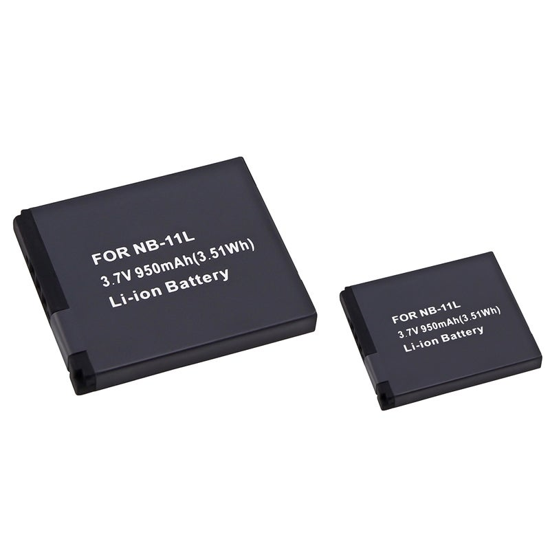 INSTEN Compatible Li-ion Battery for Canon NB-11L (Pack of 2) - Thumbnail 0