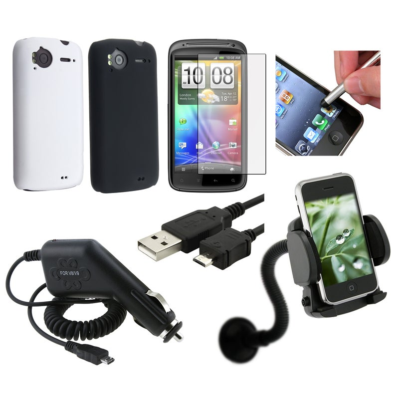 Case/ Protector/ Charger/ Cable/ Holder/ Stylus for HTC Sensation 4G