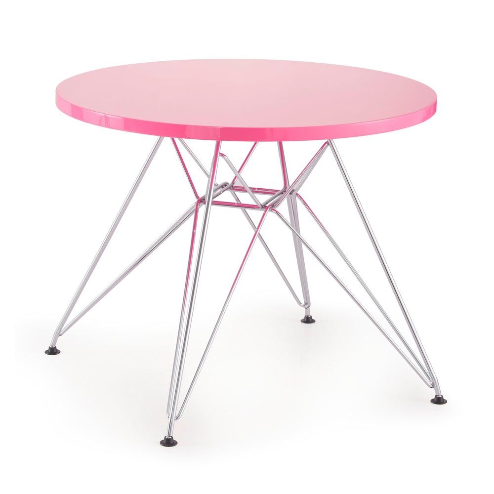 Shop Wacky Pink Table Free Shipping Today Overstock