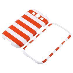 Orange Stripe Case/ Screen Protector for Samsung Galaxy S III/ S3