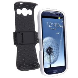 Hybrid Case/ Protector/ Windshield Mount for Samsung Galaxy S III/ S3 - Thumbnail 1