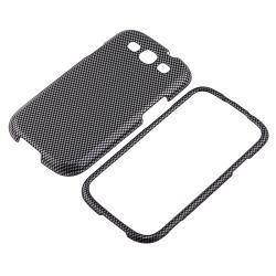 Carbon Fiber Case/ Protector/ Car Mount for Samsung Galaxy S III/ S3 - Thumbnail 1