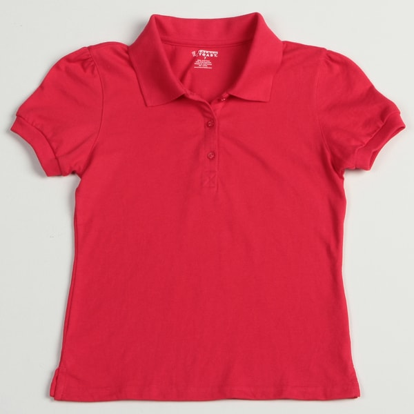 French Toast Girl's Red School Uniform Polos Size 12 (Set of 2)