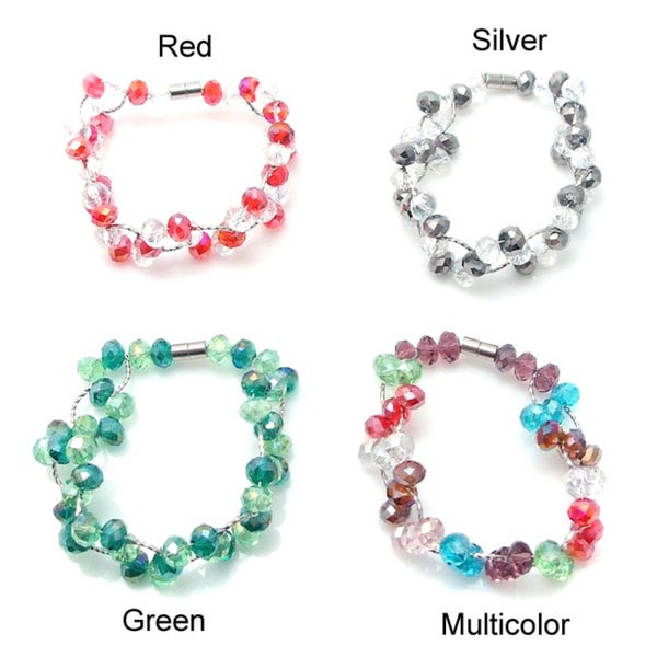 Magnetic Weave Charm Crystals Bracelet (Philippines)