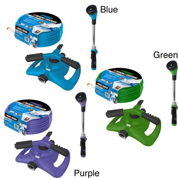 Black & Decker Home 3-piece Watering Kit