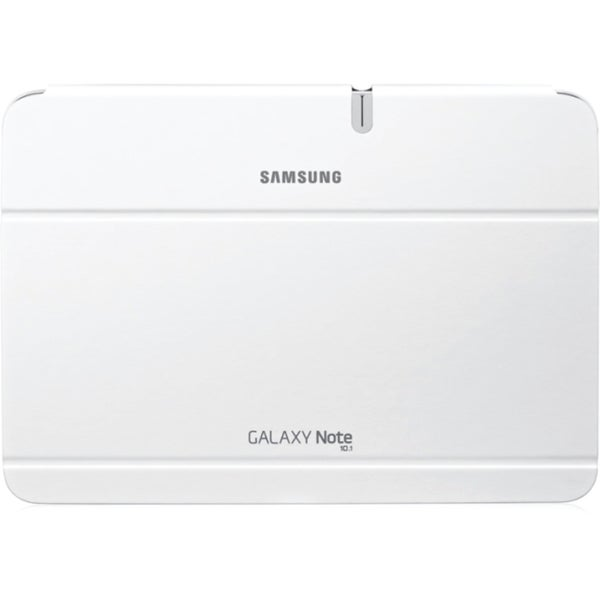 """Samsung Carrying Case (Book Fold) for 10.1"""" Tablet PC - White"""