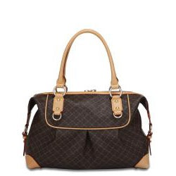 Rioni 'The Patti Bag' Signature Brown Handbag - Thumbnail 1