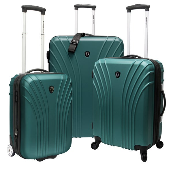 Traveler's Choice Cape Verde 3-piece Hardside Luggage Set - 2 Carry On Pieces