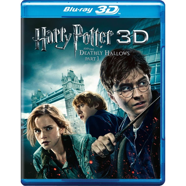 Harry Potter And The Deathly Hallows: Part 1 3D (Blu-ray Disc)