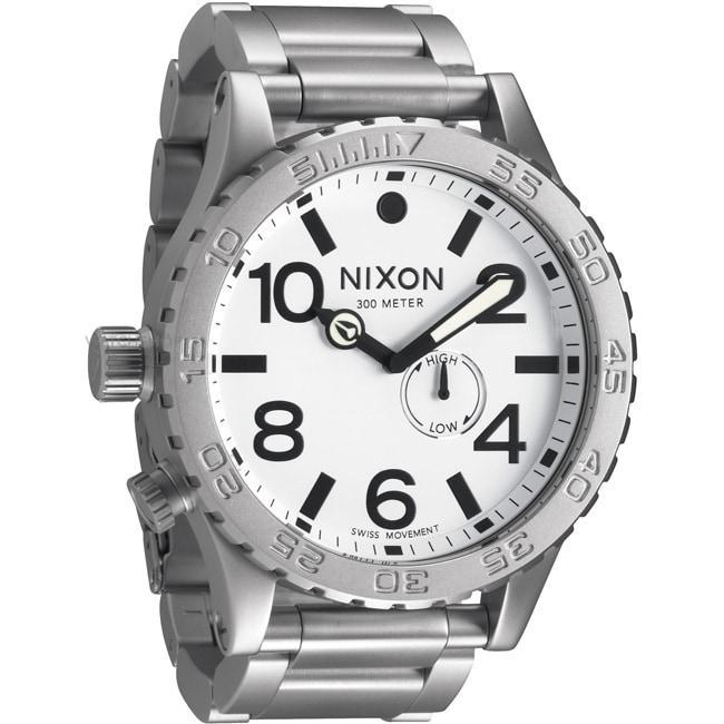 Nixon Men's 51-30 White Tide Watch