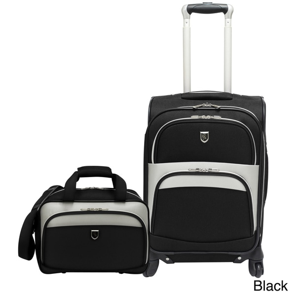 Beverly Hills Country Club 2-piece Carry-on Spinner Luggage Set
