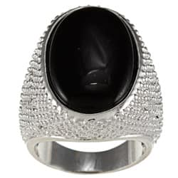 City by City City Style Brass Oval Black Crystal Ring https://ak1.ostkcdn.com/images/products/7025476/City-Style-Brass-Oval-Black-Crystal-Ring-P14530533.jpg?impolicy=medium
