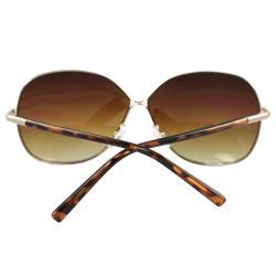 Women's Oval Fashion Sunglasses - Thumbnail 2