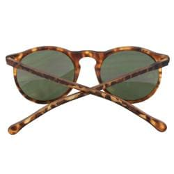 Women's Brown Oval Fashion Sunglasses