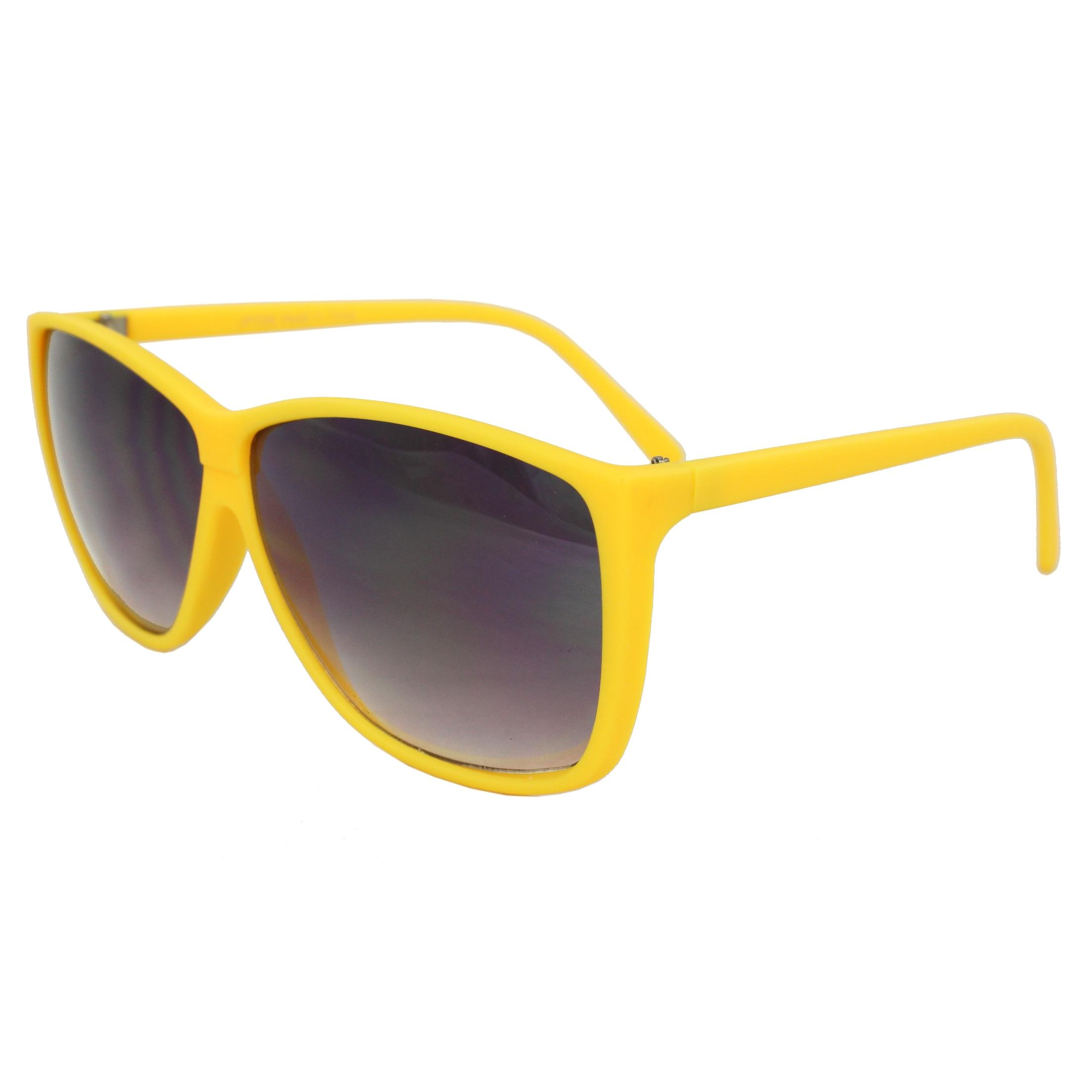 Women's Yellow Square Fashion Sunglasses