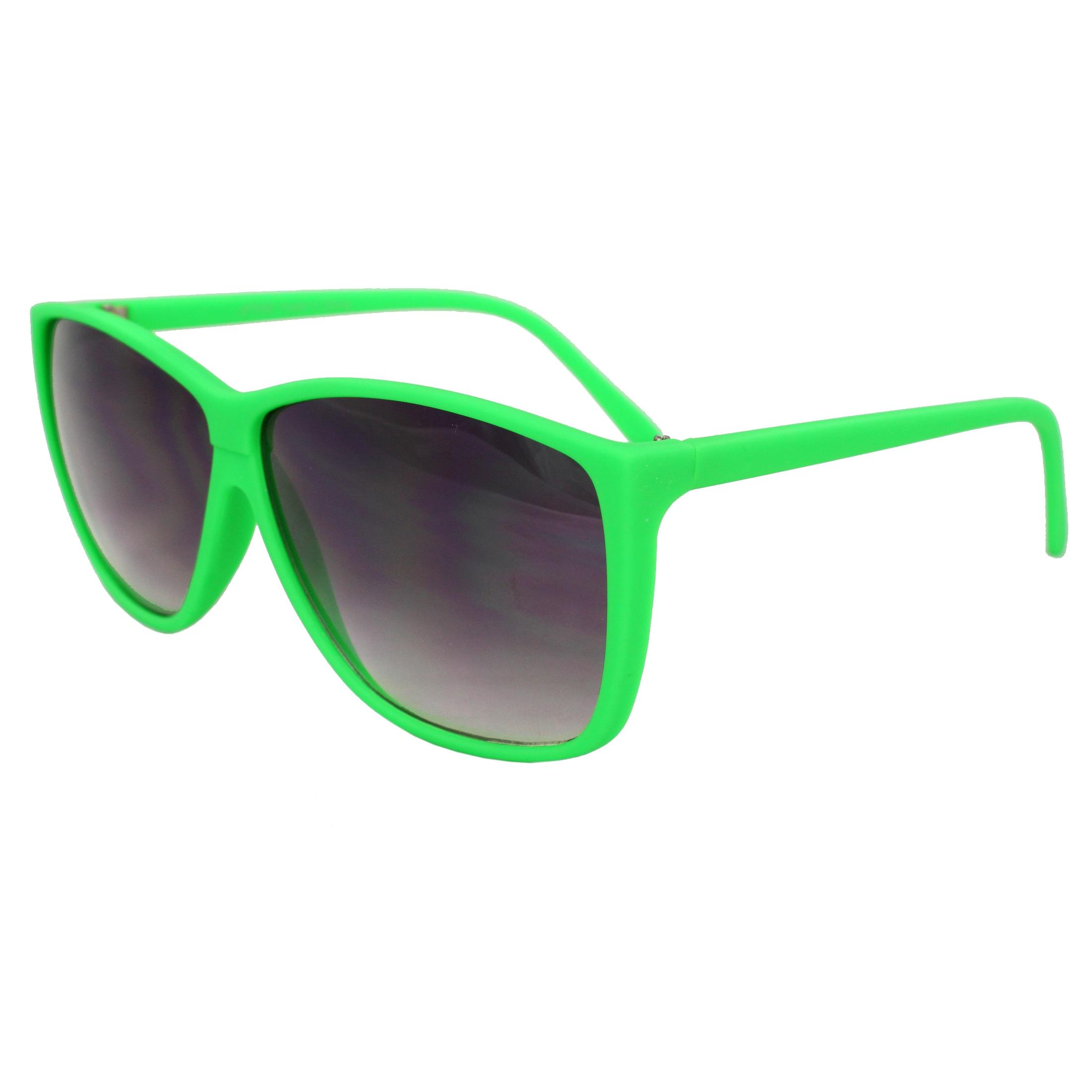 Women's Green Square Fashion Sunglasses