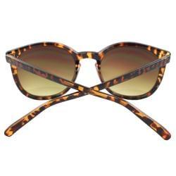 Women's Tortoise Oval Fashion Sunglasses - Thumbnail 2