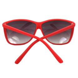 Women's Red Square Fashion Sunglasses - Thumbnail 2