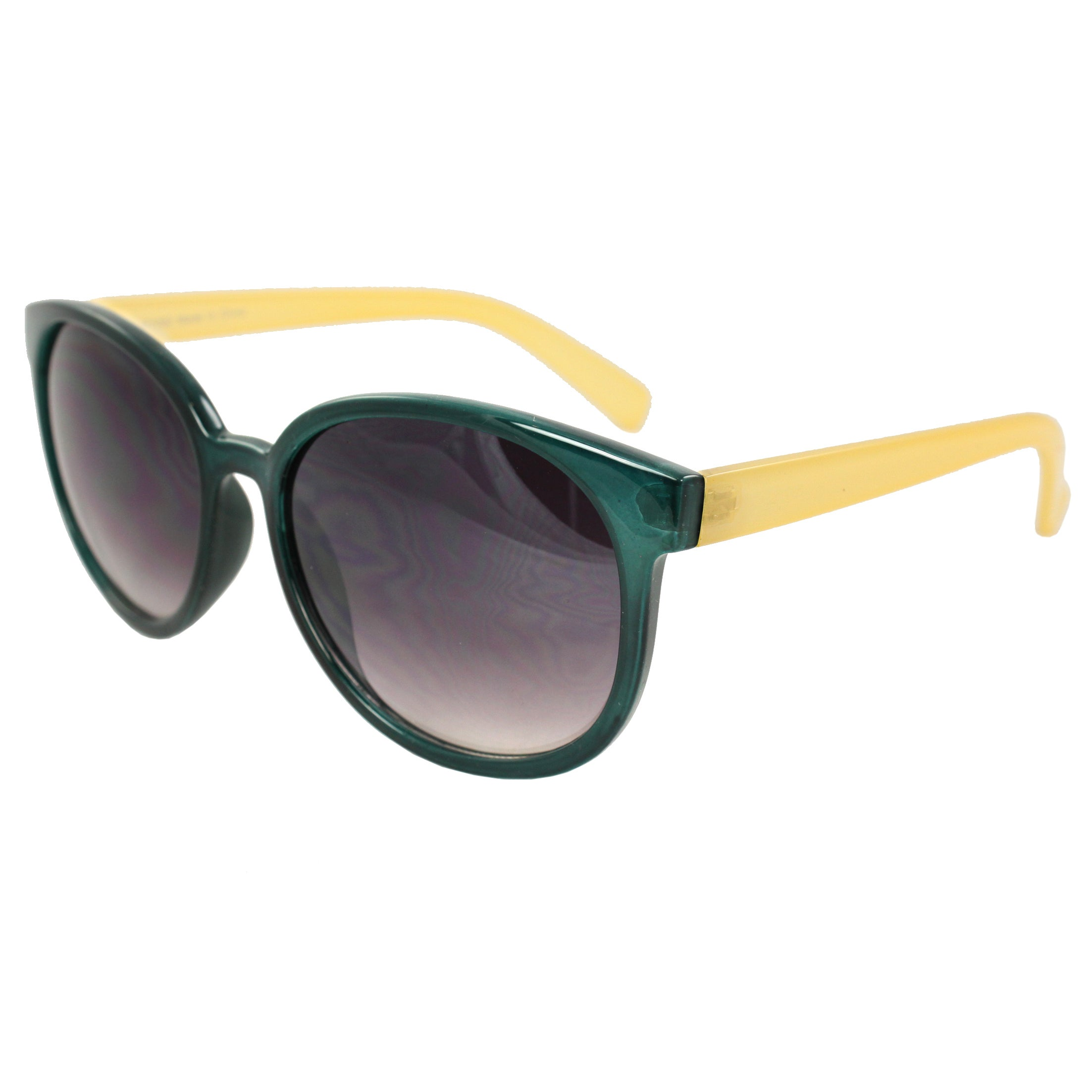 2156a5aafb3e Shop Women's Green/ Yellow Oval Fashion Sunglasses - Free Shipping On  Orders Over $45 - Overstock - 7025627