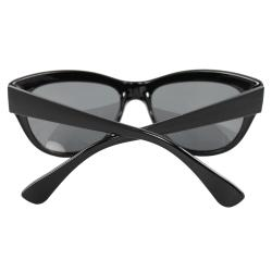 Women's Black Cateye Fashion Sunglasses - Thumbnail 2