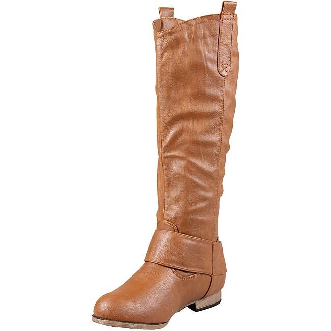 Whiskey Wild Diva by Beston Women's 'Tosca-29' Knee High Boots