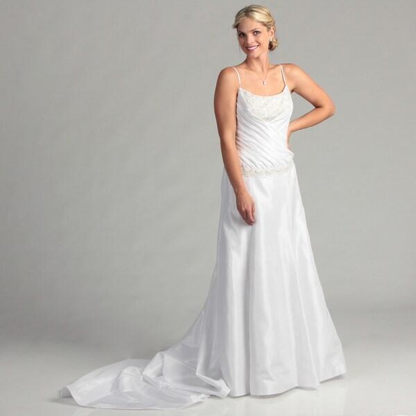 Shop Eden Bridals Pleated Women's Bridal Dress