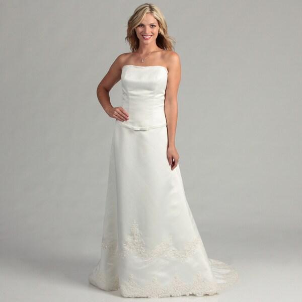 Eden Bridals Women's ED-2180 Bridal Dress