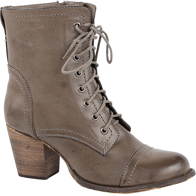 Modesta by Beston Women's 'Tobe-04' Combat Ankle Boots