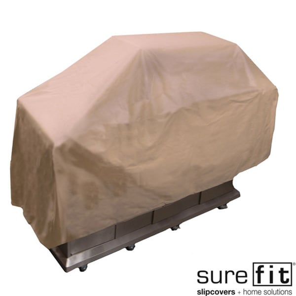Sure Fit Taupe Large Grill Cover