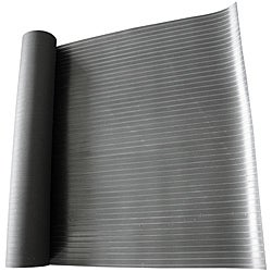Rubber-Cal Composite Rib Corrugated Rubber Floor Mat (4' x 12')