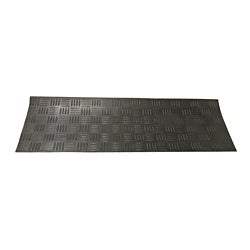 Rubber-Cal Diamond-Grip 9.75x29.75-inch Recycled Rubber Step Mats (Set of 6)