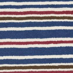 Safavieh Handmade Children's Stripes New Zealand Wool Rug (3' x 5') - Thumbnail 2