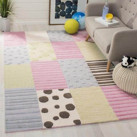 Safavieh Handmade Children's Spaces New Zealand Wool Rug (7' Square) - 7' x 7' Square