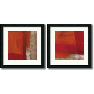 Framed Art Print 'Andromeda & Cepheus  - set of 2' by Leo Burns 18 x 18-inch Each