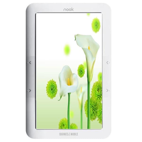 Barnes & Noble nook 2GB Wi-Fi White 1st Ed (Refurbished)